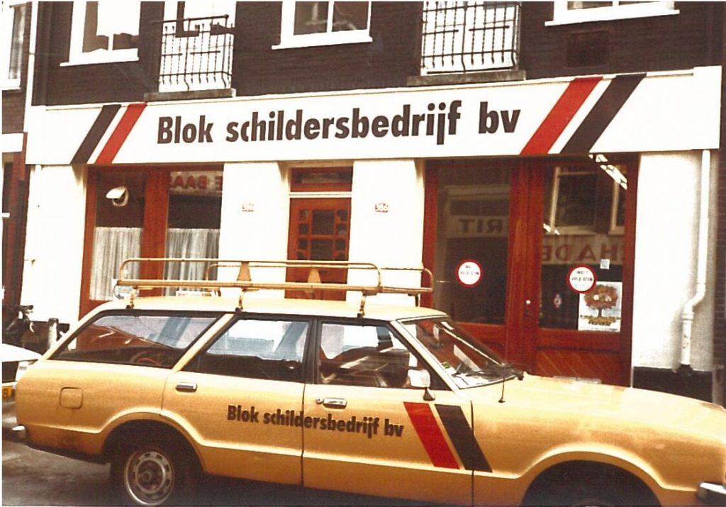 Overname Blok Schilders in Amsterdam