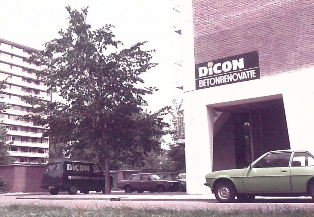 Oprichting Dicon/Dirkzwager Constructie