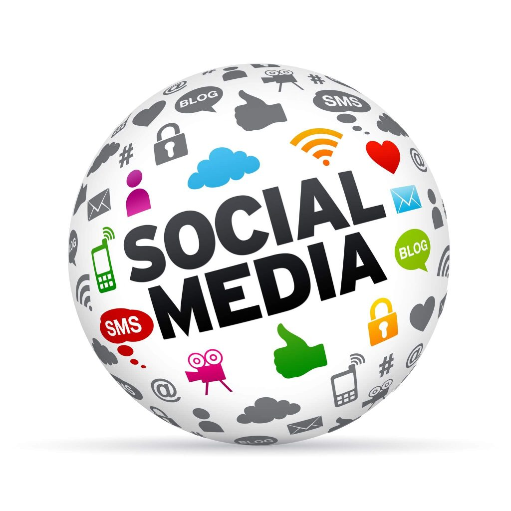Start socialmedia kanalen.