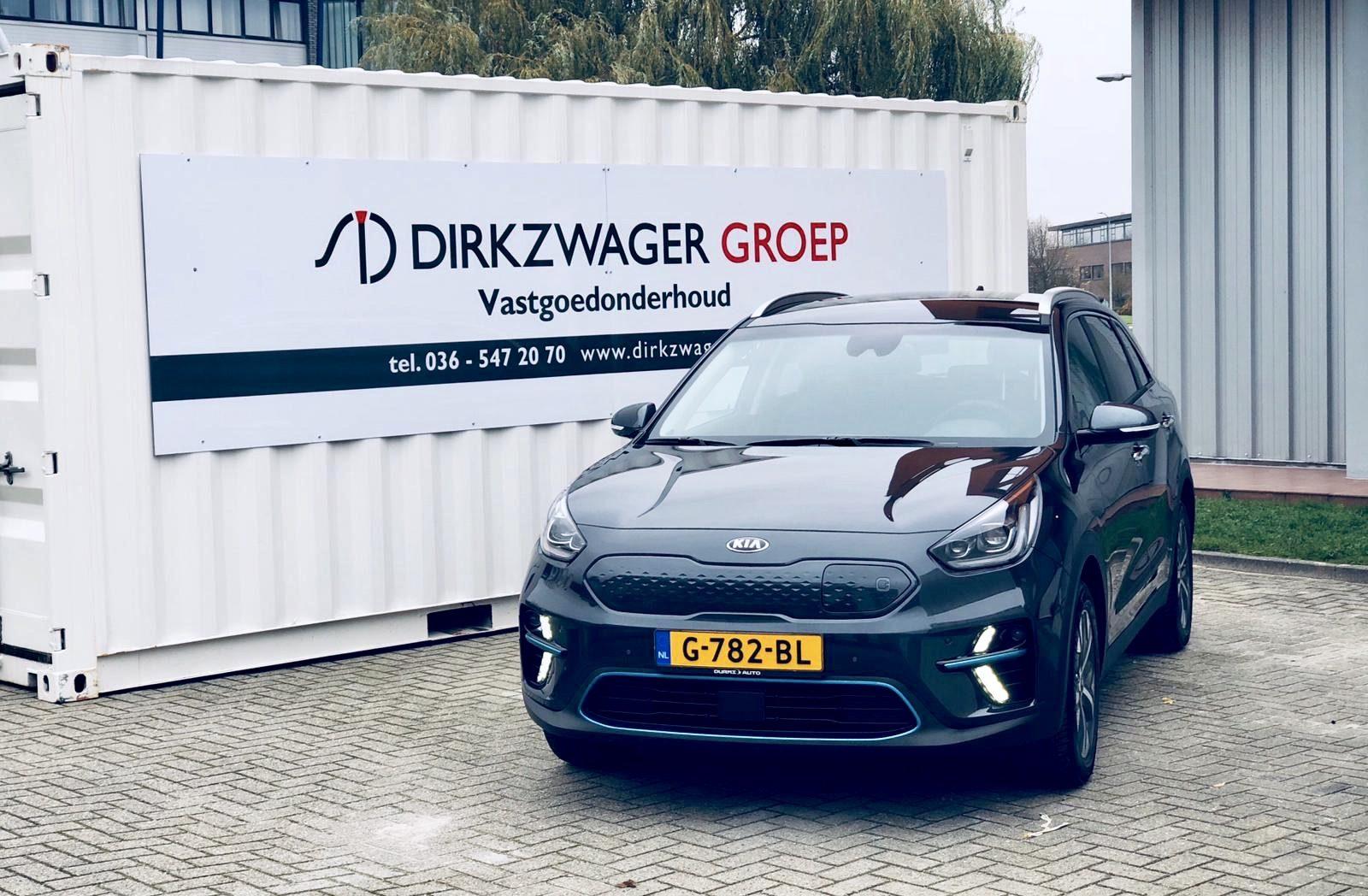 Elektrisch rijden ook bij de Dirkzwager Groep